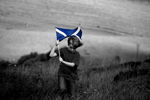 Paul and Saltire | by cx1uk