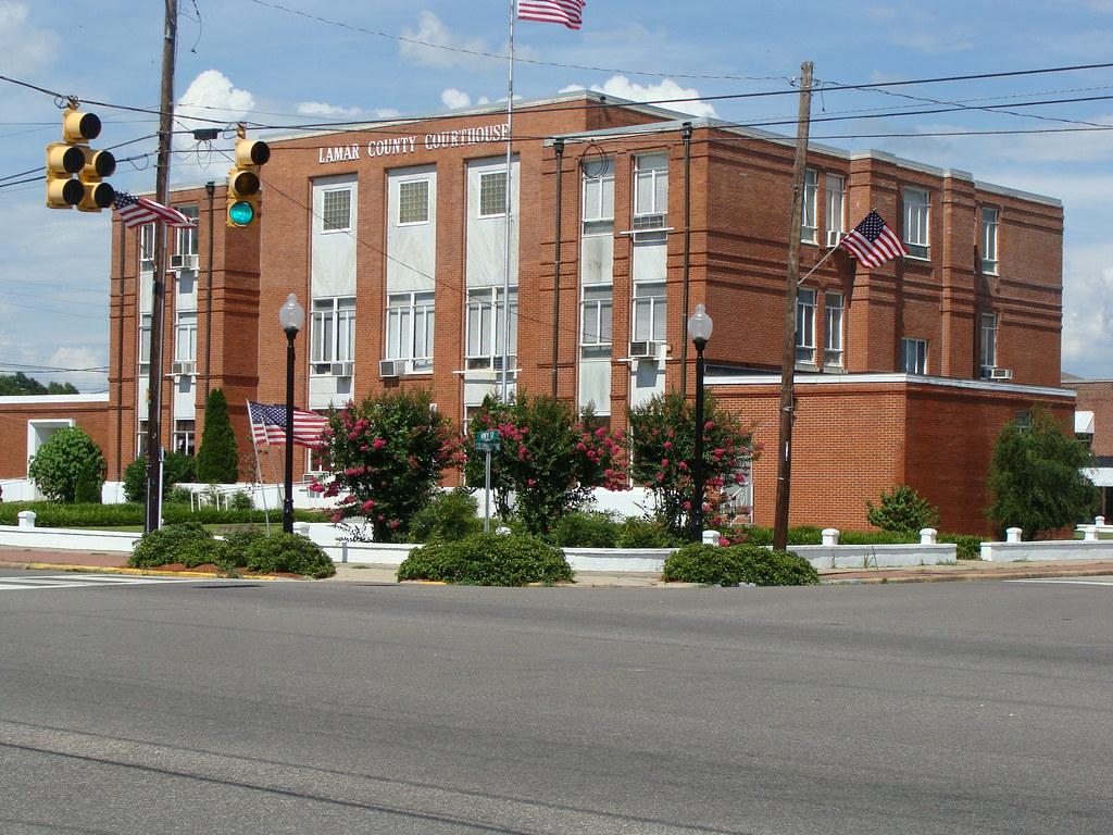 Lamar County Court House---Vernon, Al. | Rear View ...