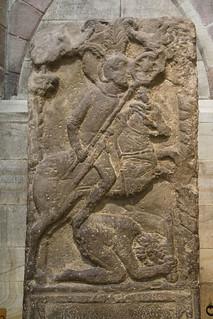 Roman tombstone, Hexham Abbey