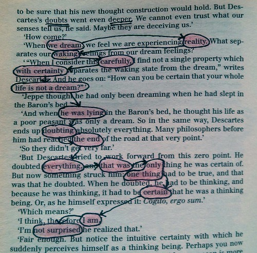 doubts went even deeper (blackout poetry) | by allisongryski