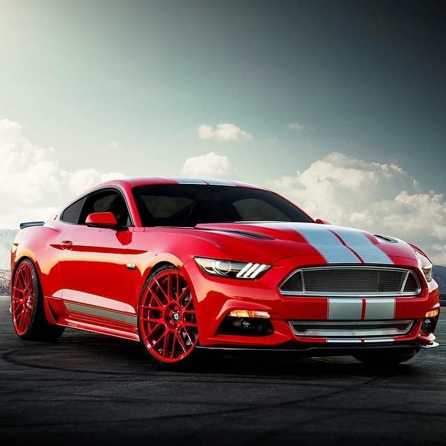 2015 Mustang Custom Wheels >> 2015 Mustang On Custom Euro Red Lexani Css 8 Wheels Lexan