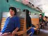 Myanmar: ve vlaku, foto: Šárka Vacková