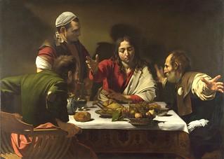 Вечеря в Емаус (1601г. и 1606г.) | by nnnnikkkk