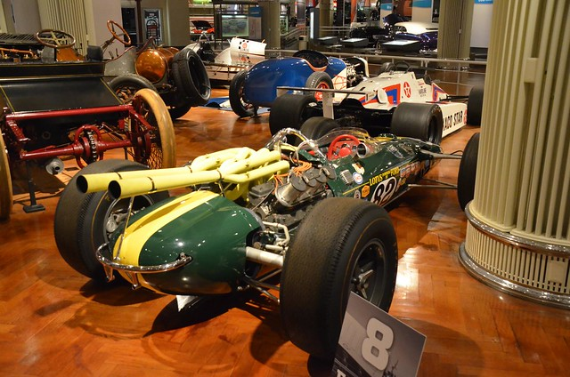 1965 Lotus-Ford race car - The Henry Ford - Engines Exposed Exhibit 2-22-2016 (1)