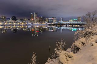 Snowy Portlandia | by TeeJay_S