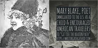 MARY ELIZABETH MCGRATH BLAKE #100travelHERS   by sandrakaybee