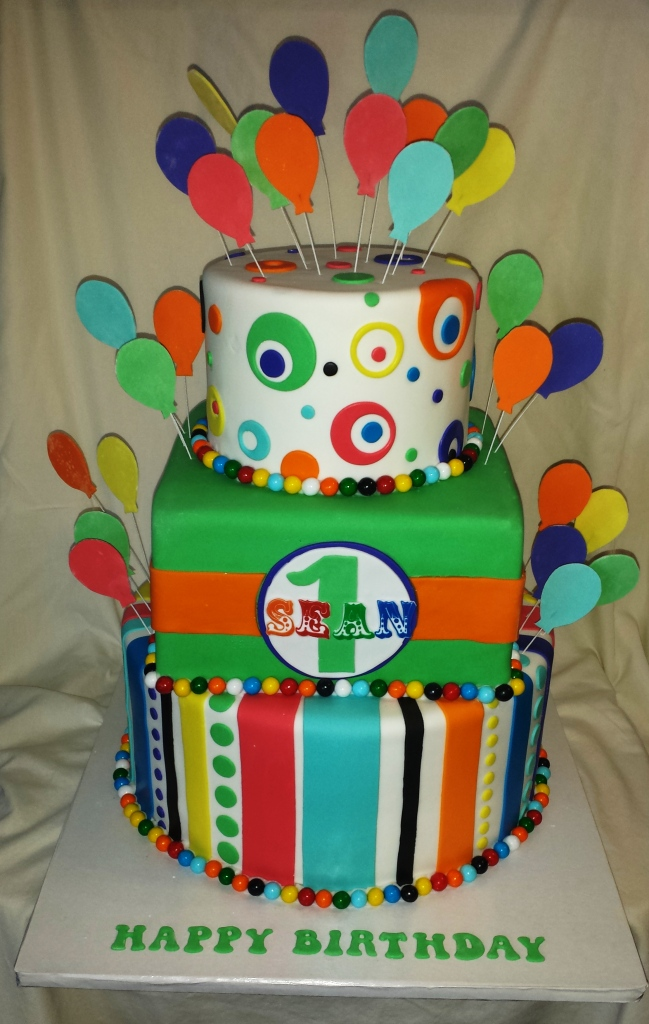 Carnival Toy Box Pink: Carnival Cake - Pink Cake Box Inspiration