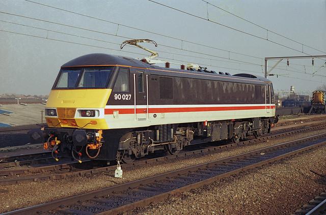 90027 Intercity Mainline - Wolverhampton 05.89