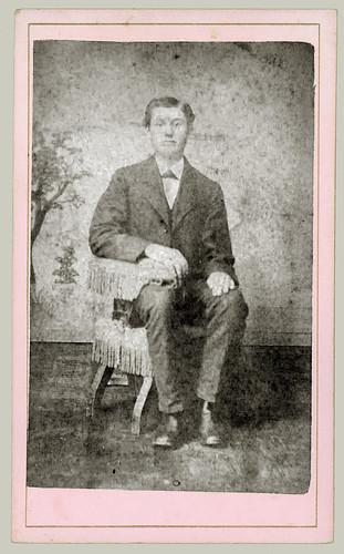 CDV Man Seated