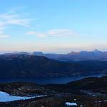 Storfjorden og Vassetra fra Storevarden