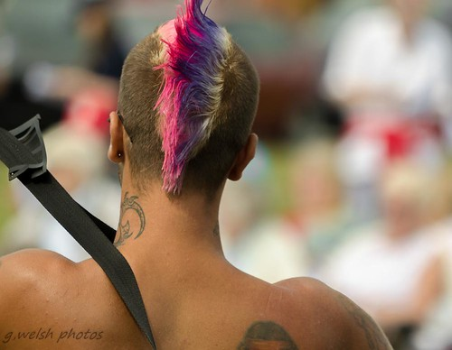 Man with a mohawk hairstyle | by photogeoff1