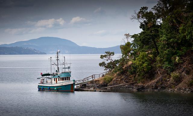 At Mooring Vancouver Island