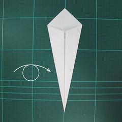 การพับกระดาษเป็นนกกระสา (Origami Pelican) 005