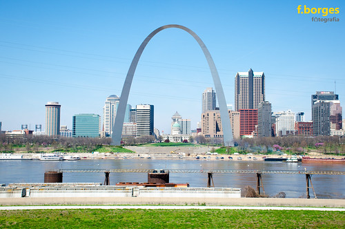 park usa st skyline america river mississippi louis us nikon memorial arch view martin malcolm united w sunny east mo clear missouri gateway states stl felipe borges d7000