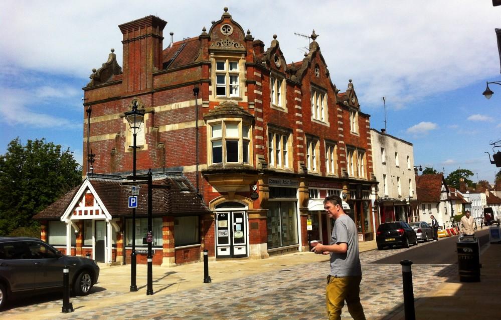 Hemel Hempstead High Street. (UK).