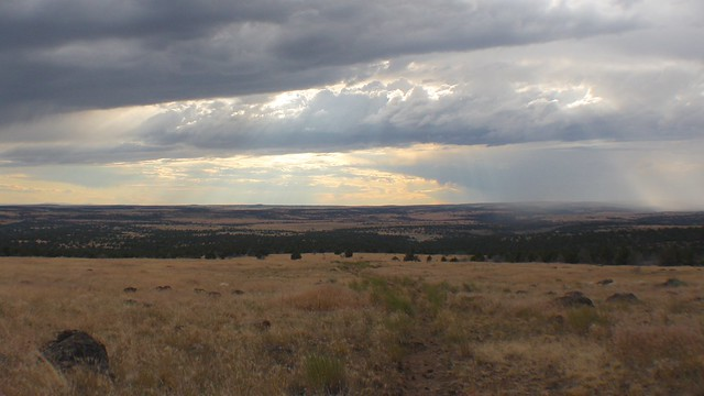 Sunbeams at the Steens