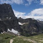 Descending into Many Glacier