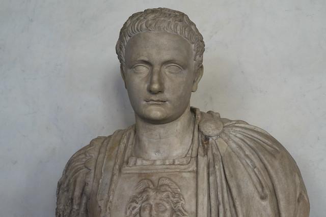 Walking the Uffizi Corridors – XVII: Domitian