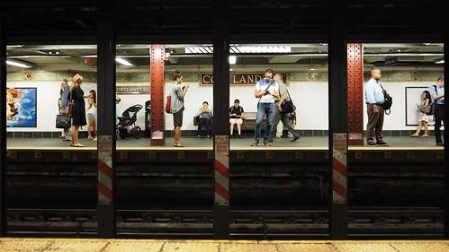 Cortlandt Street Subway, NYC   by AMcUK