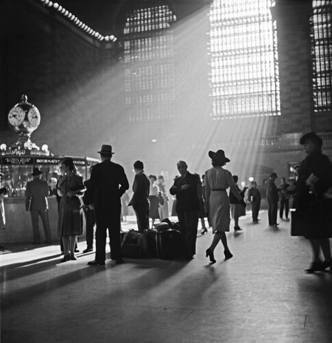 Busy Scene at Grand Central Station c