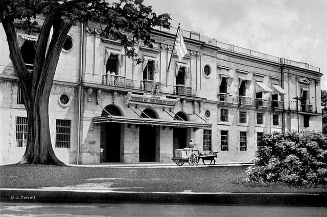 Intendencia Building (Aduana Building), Intramuros, Manila, Philippines, 1919-1926