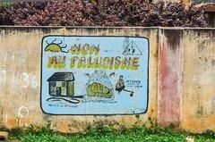 Road sign in Togo