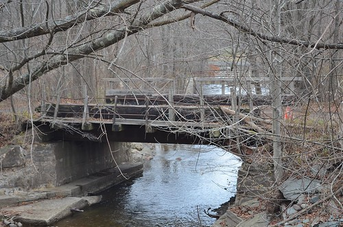 railroad bridge abandoned ow sullivancountyny newyorkontarioandwesternrailroad livingstonmanorny