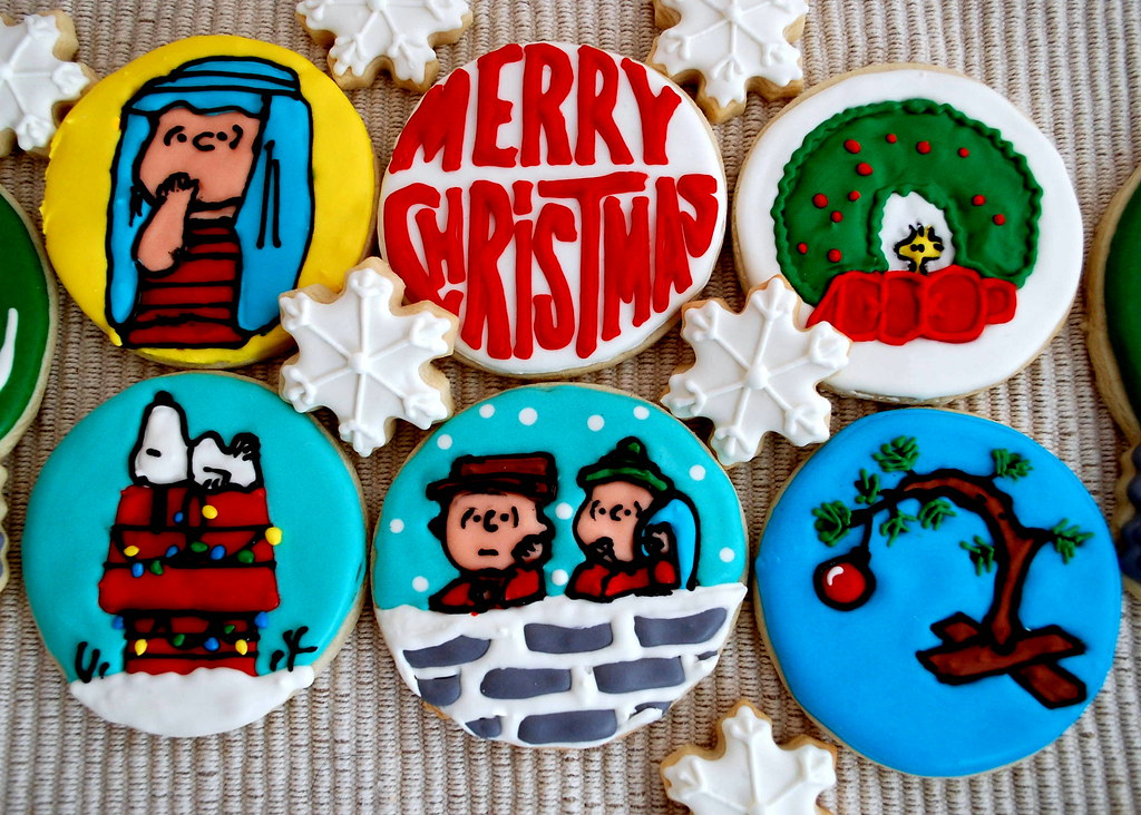 Merry Christmas Charlie Brown You Re A Cookie Stacey Flickr