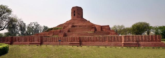 India - Uttar Pradesh - Sarnath - Chaukhandi Stupa - 7