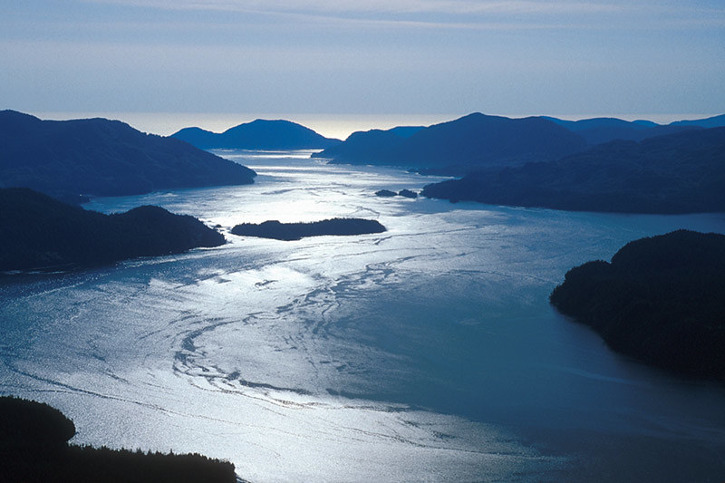 Quatsino Sound, North Vancouver Island, British Columbia, Canada