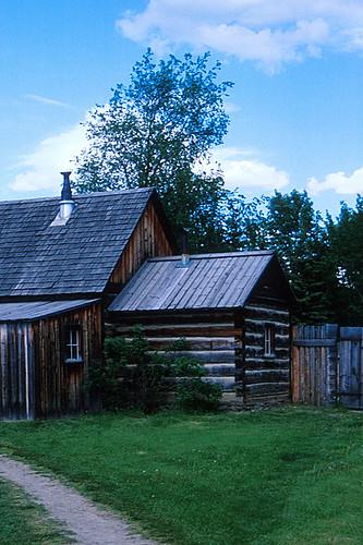 Fort St. James National Historic Site, Fort St. James, Stuart Lake, Northern British Columbia