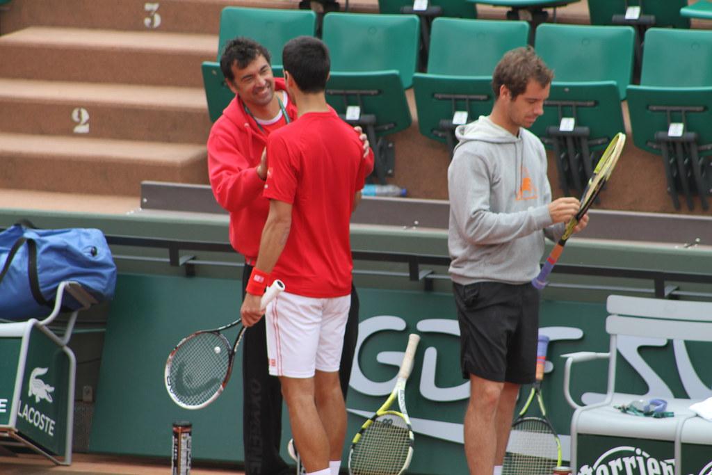 Djokovic, Bruguera, Gasquet