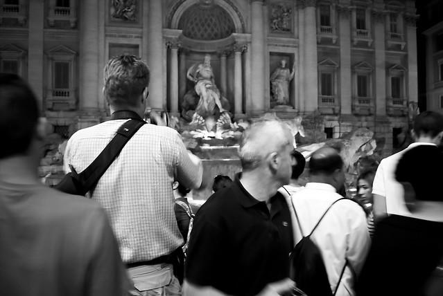 Tumulto en la Fontana