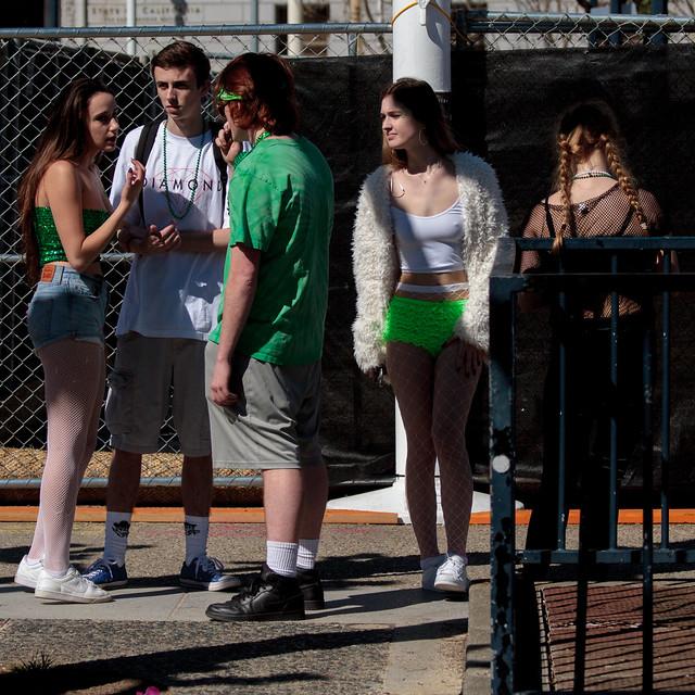 SF St. Patricks Parade 2017: chanceless mage