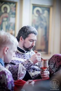 Литургия в Покровском соборе 350