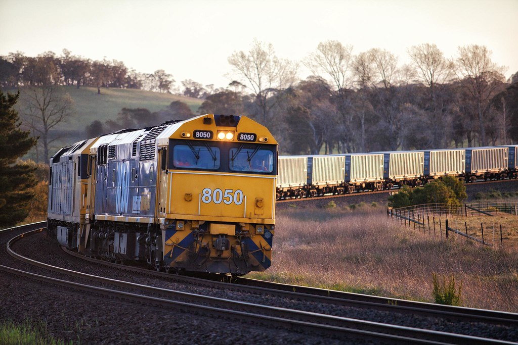 8050 Passing Werai by Trent