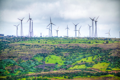 india landscape windmills waterfalls maharashtra kaas thoseghar chalkewadi