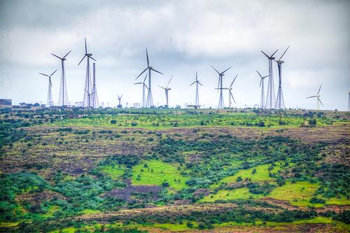 india landscape windmills waterfalls maharashtra kaas thoseghar chalkewadi