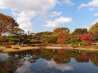 Pond @ Imperial Palace East Garden @ Tokyo | by *_*