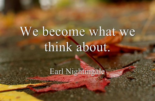 We-become-what-we-think | by Bull Gator