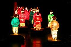 Baekje Lantern Display at Seokchon Lake