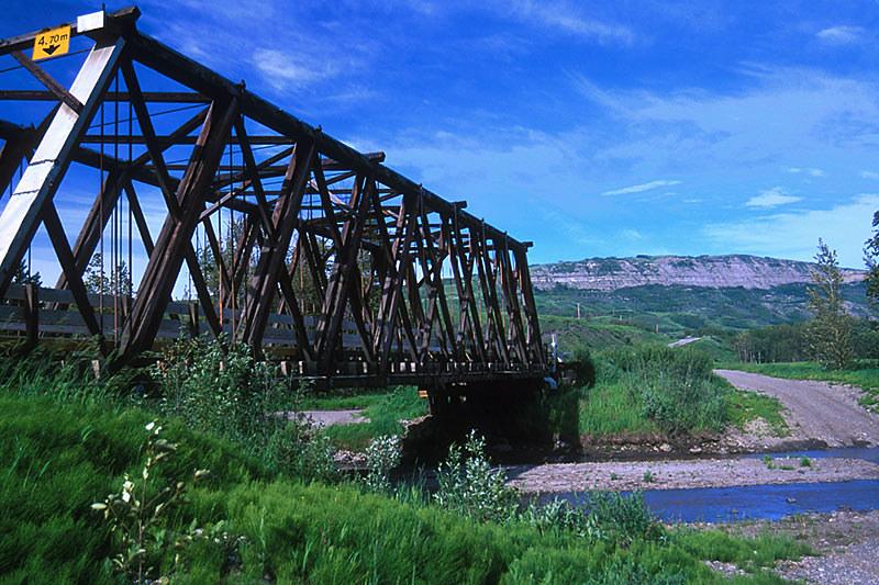 Sikanni River, Pink Mountain, Alaska Highway 97, Northern British Columbia, Canada