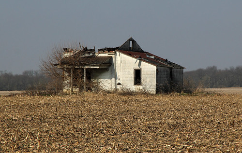 county roof ohio house abandoned overgrown field farmhouse pen altered john log corn farm historic steeple madison single porch vacant pike siding burnham township addition rosedale collapsed asbestos tenant hewn notching hewed