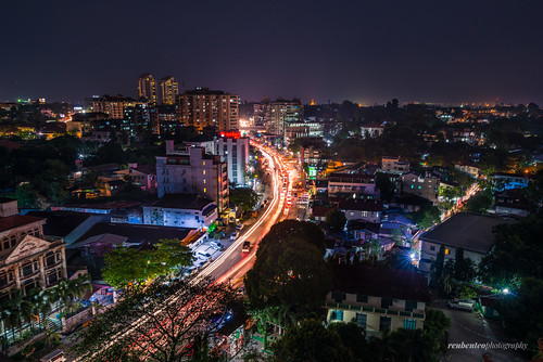 Yangon City in the Evening | by reubenteo