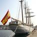 A bordo del buque escuela Juan Sebastián de Elcano