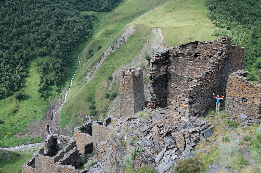 укрепени жилища и кули в Кавказ