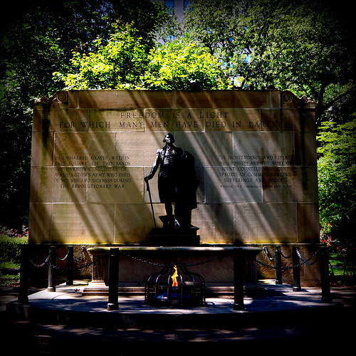 The Tomb of the Unknown Revolutionary War Soldier - Washington Square Park - Philadelphia, PA, USA. | by Esoteric_Desi