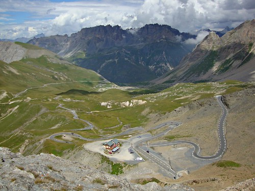 Vue du col du Galibier | by BlackandWhitephotographies78
