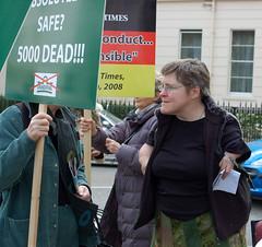 See Gerard Batten MEP outside the German Embassy 2013