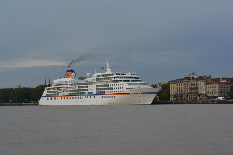 Arrivée du paquebot MS EUROPA à Bordeaux - 19 octobre 2013